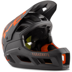 MET Parachute MCR MIPS Helmet, black orange matt